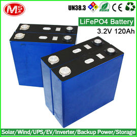 China Longe Lifespan LiFePO4 Battery Cells / 3.2 V Lifepo4 Lithium Battery Pack supplier