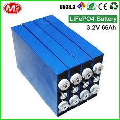 China Large Capacity LiFePo4 Battery Cells 3.2v 66ah E Bike Lifepo4 Battery Pack supplier