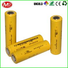 China Original A123 Lifepo4 Cells Lithium Ion 18650 Cylindrical Rechargeable Batteries supplier