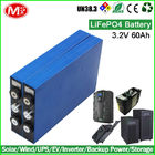 China LiFePO4 12v 240ah Deep Cycle Battery Pack For Home Storage Street Lighting company