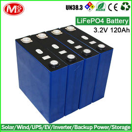 China Rechargeable Lithium Ion Golf Cart Batteries , LiFePO4 Battery Pack 3.2V 120AH distributor