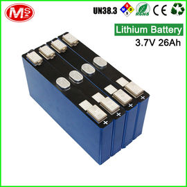 China LiFePO4 Lithium Iron Phosphate Prismatic Cells Rechargeable 3.7 Volt 26Ah factory