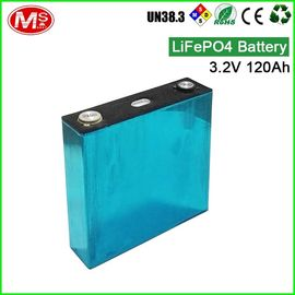 China 3.2V 120Ah Lithium Iron LiFePO4 Battery Pack For Home Solar Energy System factory