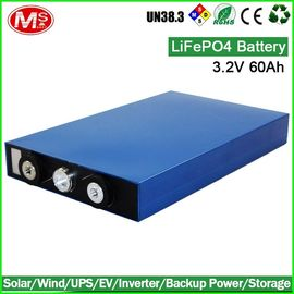 China LFP Lifepo4 Prismatic Battery / Prismatic Lifepo4 Ev Battery 3.2V 60Ah factory