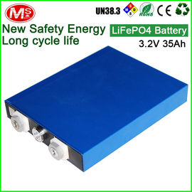 China Rechargeable LifePo4 Prismatic Battery Cell Solar Panel Battery Storage distributor