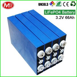 China Large Capacity LiFePo4 Battery Cells 3.2v 66ah E Bike Lifepo4 Battery Pack distributor