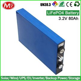 China High Power 3.2V 80Ah LiFePO4 Battery Cells Prismatic Lithium Ion Battery distributor