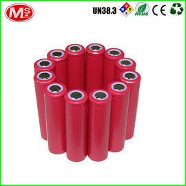 China Cylinder 18650 Battery Pack , 18650 Lithium Rechargeable Battery 10s2p 36v 4.4ah factory