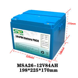 China Li Polymer LiFePO4 12 Volt Lithium Battery Pack for Home Solar Energy System factory