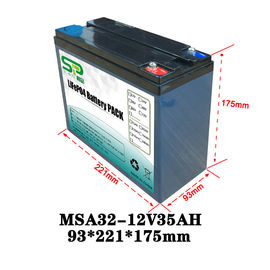 China Lithium Power Pack 12v Car Backup Battery For Security Monitoring Device factory