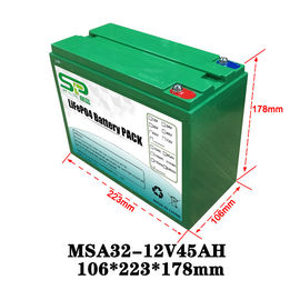 China Lithium Ion Battery For Solar Street Light , Lithium Polymer Battery Pack 12 Volt distributor