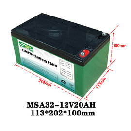 China 20Ah 12 Volt Lithium Battery Pack / Medical Equipment Batteries Large Capacity distributor
