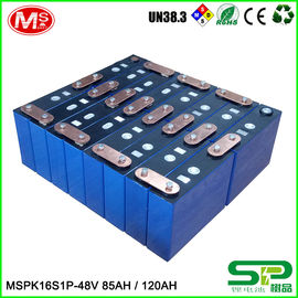 China High Capacity Rechargeable 48 Volt Lithium Ion Golf Cart Battery 16S1P With Smart BMS factory