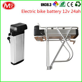 China LiFePO4 Electric Bike Battery 48v 1000w With Silver Fish Box 2000 Times Cycle Life factory