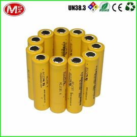 China 3.2V 1350mAh Lithium 18650 Battery Pack LiFePO4 Rechargeable 1500 Times Cycle Life factory